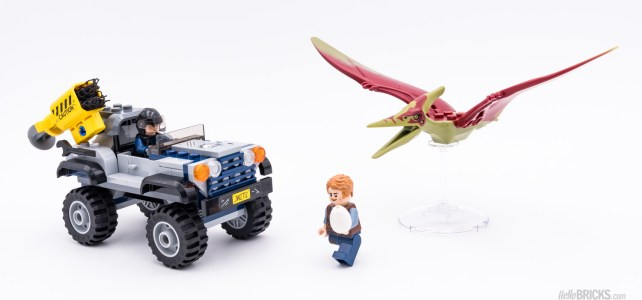 REVIEW LEGO 75926 Jurassic World Pteranodon Chase
