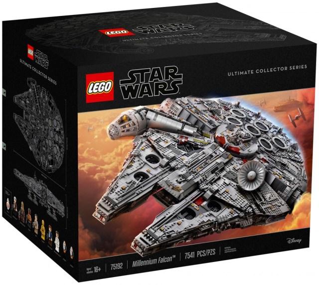 promo LEGO 75192 millenium falcon