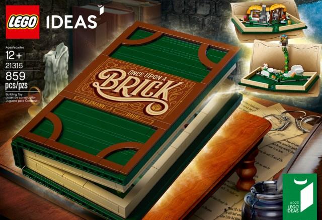 LEGO Ideas 21315 Pop-Up Book dispo