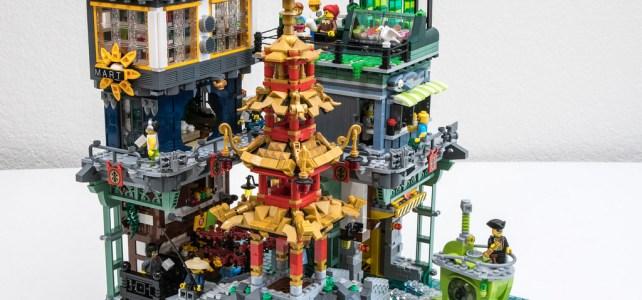 LEGO Ninjago City Pagoda Park