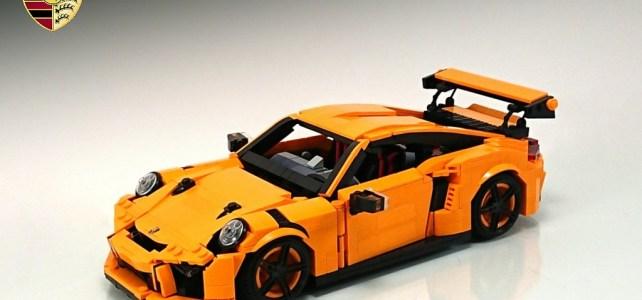 L'autre Porsche 911 GT3 RS en LEGO