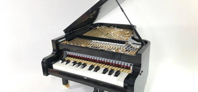 Un piano LEGO qui fonctionne comme un vrai !