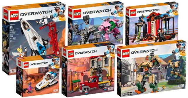Nouveautés LEGO Overwatch 2018
