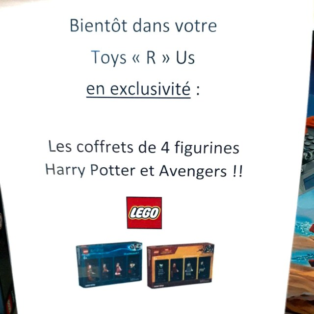 Packs de minifigs exclusifs Bricktober 2018 Toys R Us