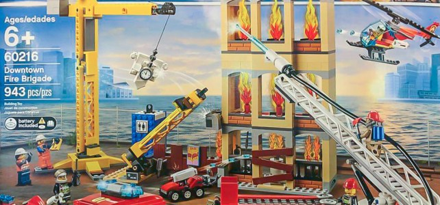 LEGO 60216 Downtown Fire Brigade