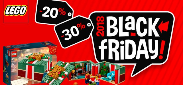 LEGO Black Friday 2018 : c'est parti !