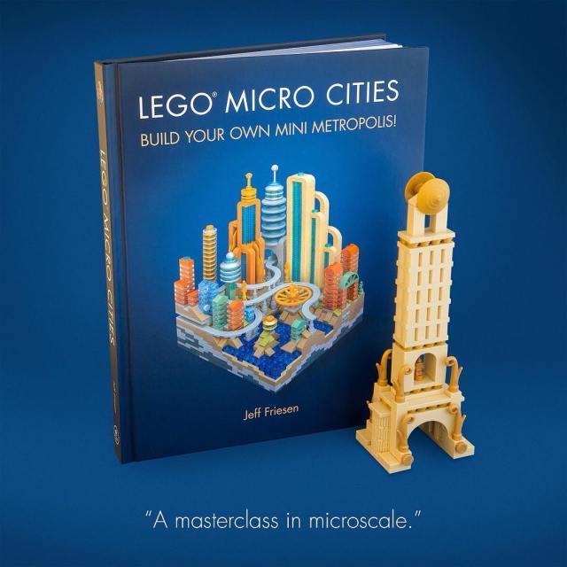 Livre LEGO Micro Cities