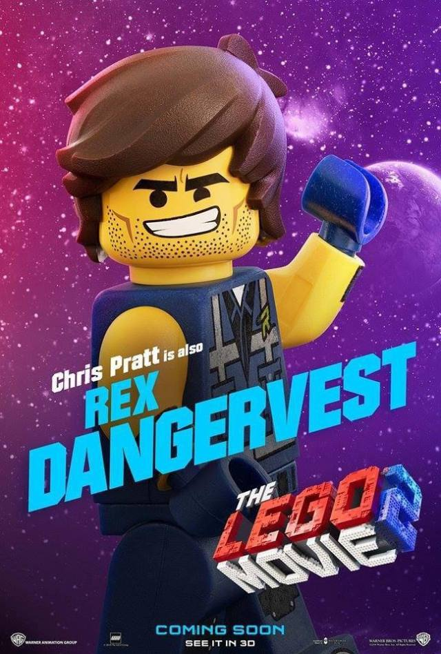 The LEGO Movie 2 The Second Part Rex Dangervest