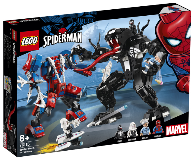 LEGO Spiderman 2019 76115 Spider Mech vs. Venom