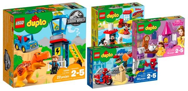 LEGO DUPLO licences