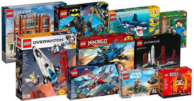 New LEGO 2019 shop