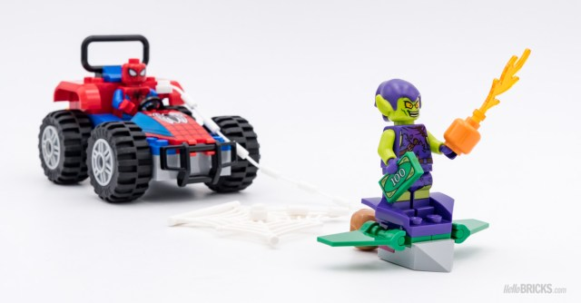 REVIEW LEGO 76133 Spider-Man Car Chase
