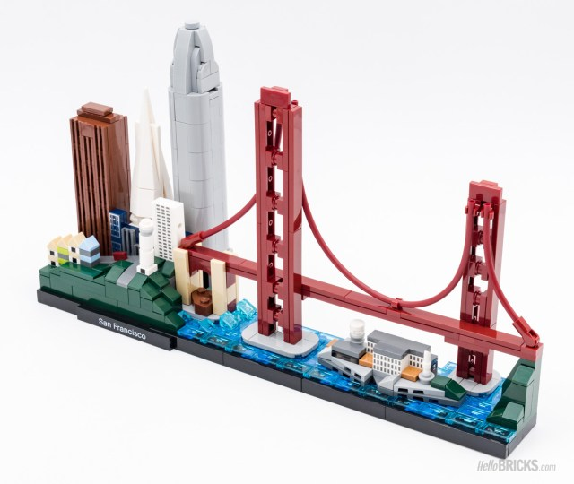 REVIEW LEGO Architecture 21043 San Francisco skyline