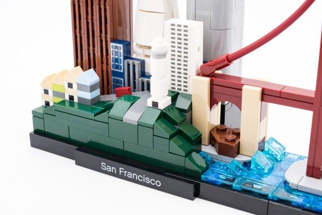 REVIEW LEGO Architecture 21043 San Francisco skyline