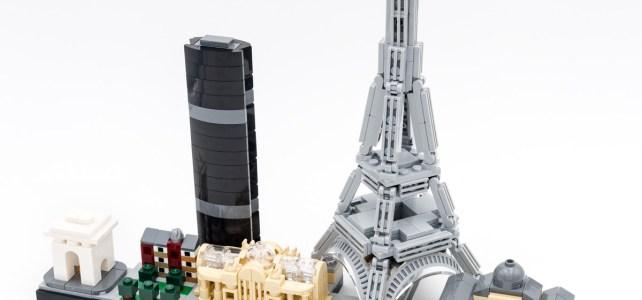 REVIEW LEGO Architecture 21044 Paris skyline