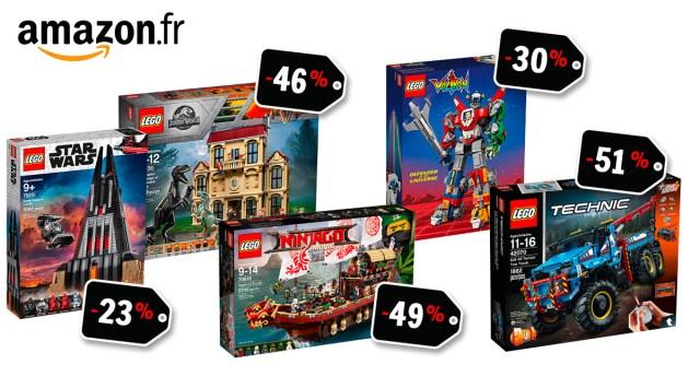 ventes flash LEGO Amazon