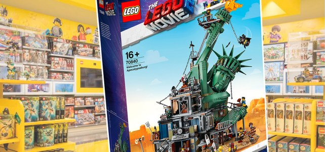 Dédicace LEGO Movie 70840 Apocalypseburg