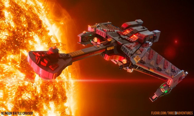 LEGO Star Trek Klingon Battle Cruiser