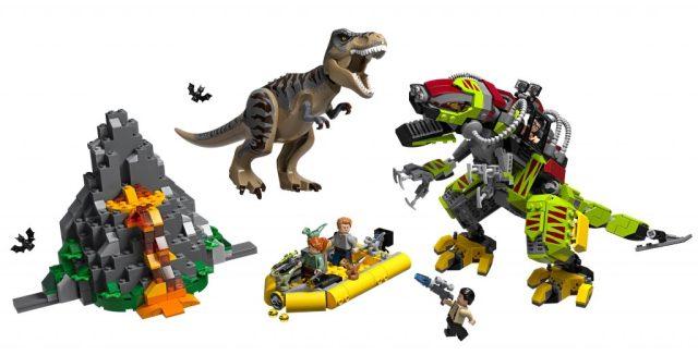 LEGO-Jurassic-World-75938-T-Rex-vs-Dino-Mech-Battle