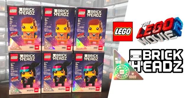 LEGO Movie 2 BrickHeadz Limited Edition US