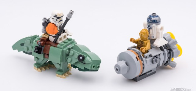LEGO Star Wars 75228 Escape Pod vs Dewback Microfighters