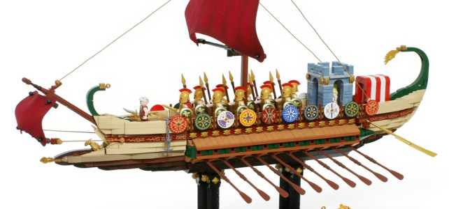 Marine militaire romaine - Roman Warship