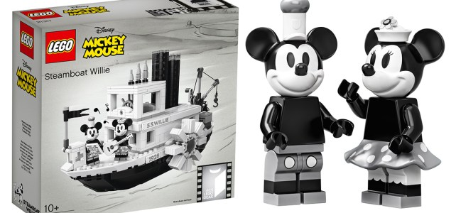 Nouveauté LEGO Ideas 21317 Steamboat Willie
