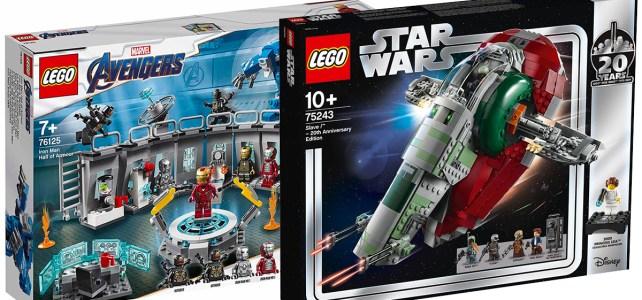 Sur le Shop LEGO : les nouveautés d'avril sont disponibles