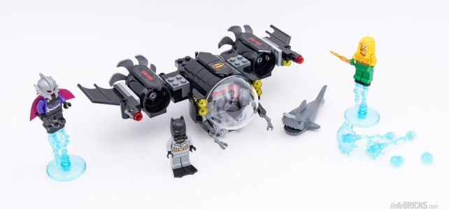 REVIEW LEGO 76116 Batman Batsub