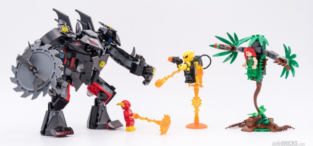 REVIEW LEGO 76117 Batman Mech vs Poison Ivy Mech