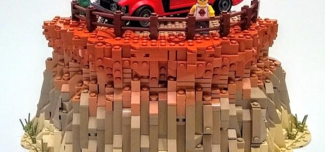 Ford Mustang canyon dégradé