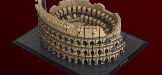 LEGO Architecture Colysee Rome