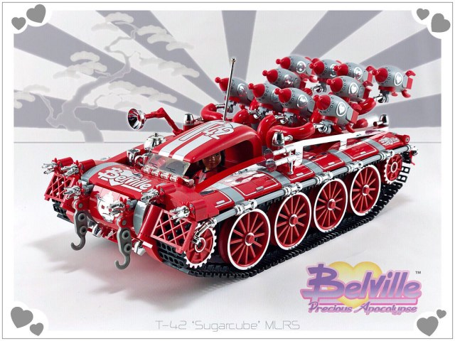 LEGO Belville T-42 'Sugarcube' MLRS