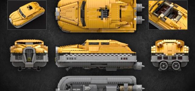 LEGO Taxi Cinquieme Element
