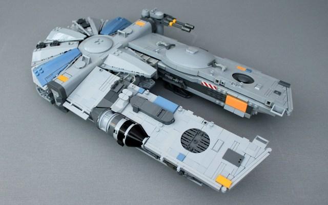 YT-1450 Light Freighter spaceship