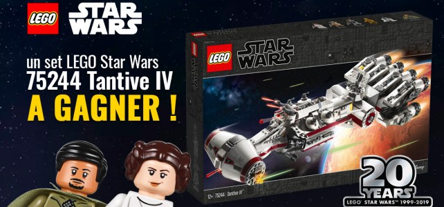 Concours LEGO Star Wars Tantive IV
