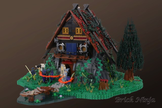 LEGO 6048 Majisto's Magical Workshop remake