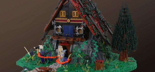 LEGO 6048 Majisto's Magical Workshop remake