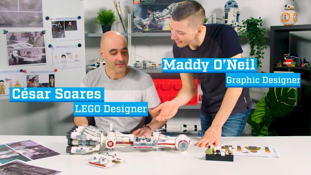LEGO Star Wars 75244 Tantive IV video designers