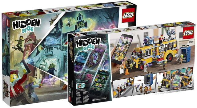LEGO Hidden Side 2019 precommande