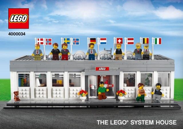 LEGO Inside Tour 2019 4000034 The LEGO System House