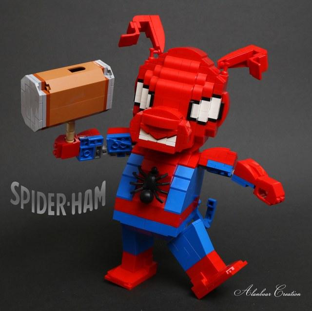 LEGO Spider-Cochon