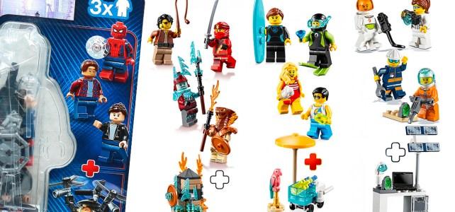 Nouveaux packs de minifigs LEGO