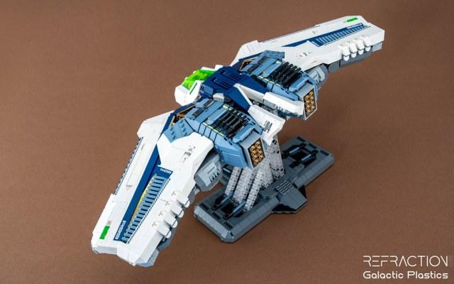 Refraction R99 LEGO spaceship