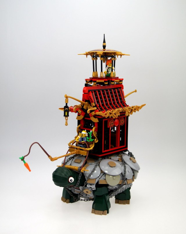 LEGO Turtle Temple