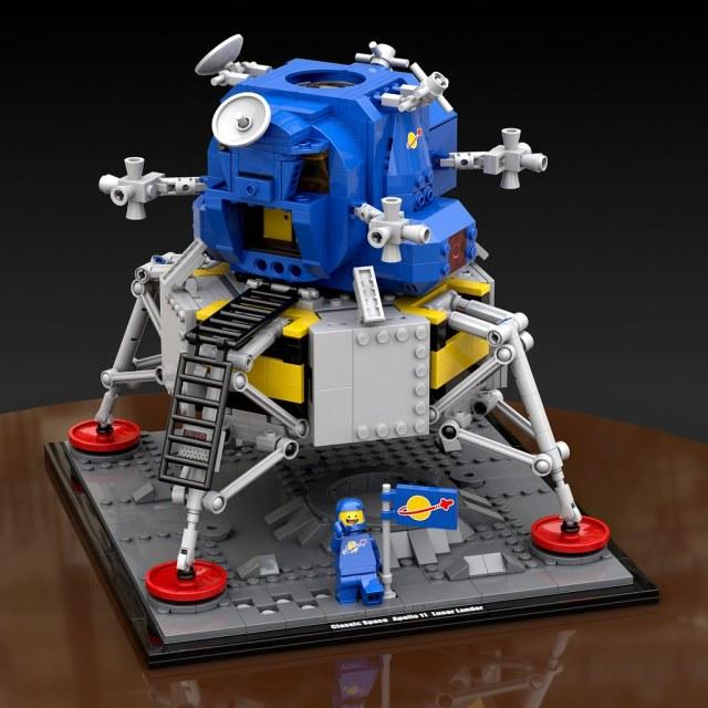 NASA Apollo 11 Lander LEGO Classic Space