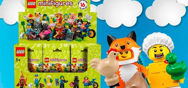 Précommandes ouvertes pour la boite de 60 sachets de minifigs à collectionner Série 19 (LEGO 71025)