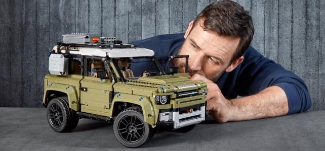 Nouveauté LEGO Technic 42110 Land Rover Defender : l'annonce officielle