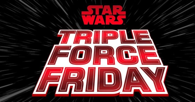 LEGO Star Wars Triple Force Friday logo