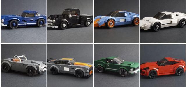 Porsche 356 et autres merveilles au format LEGO Speed Champions